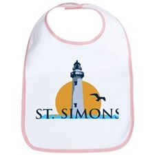 St. Simons Island - Lighthouse Design. Bib