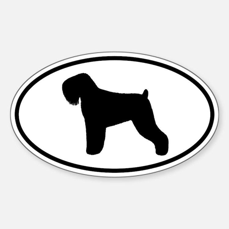 Black Russian Terrier Decal