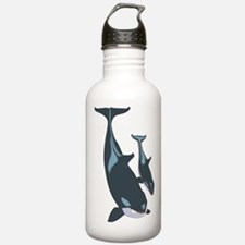 Killer Whales Water Bottle