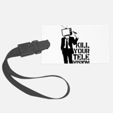 Kill Your Television Luggage Tag