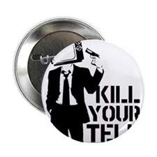 """Kill Your Television 2.25"""" Button (10 pack)"""