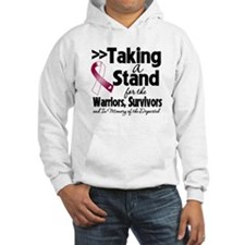Stand Throat Cancer Hoodie