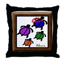 Ohana [Family] Throw Pillow