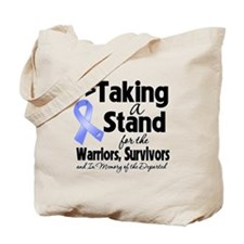 Stand Stomach Cancer Tote Bag
