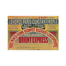 Orient Express Rectangle Magnet