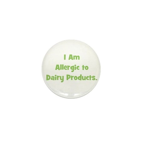 Allergic to Dairy Products (g Mini Button