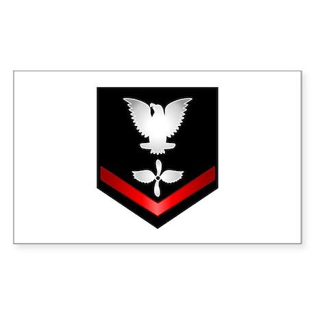 Navy PO3 Aviation Machinist's Mate Sticker (Rectan