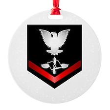 Navy PO3 Aviation Maintenance Ornament