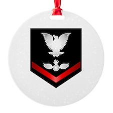 Navy PO3 Aviation Ordnanceman Ornament