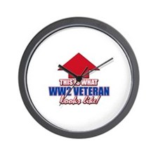 This is what WW2 Veteran looks like Wall Clock