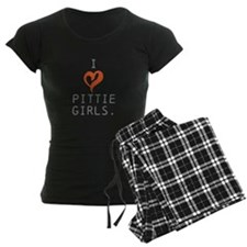 I heart Pittie girls. pajamas