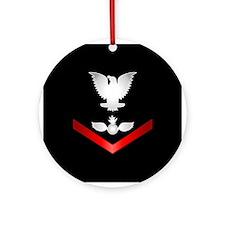 Navy PO3 Aviation Ordnanceman Ornament (Round)