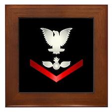 Navy PO3 Aviation Ordnanceman Framed Tile