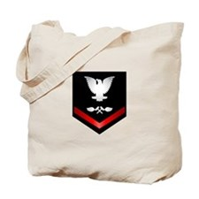 Navy PO3 Aviation Structure Mechanic Tote Bag