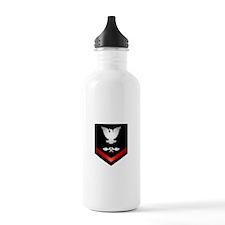 Navy PO3 Aviation Structure Mechanic Sports Water Bottle