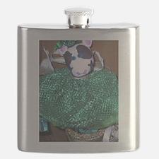 cow green 4.jpg Flask