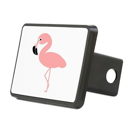 Flamingo Rectangular Hitch Cover