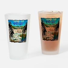 monte carlow monaco illustration Drinking Glass