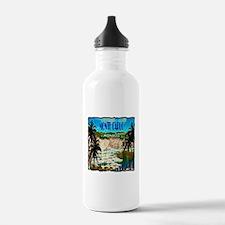 monte carlow monaco illustration Water Bottle