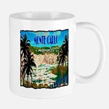 monte carlow monaco illustration Mug