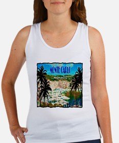 monte carlow monaco illustration Women's Tank Top