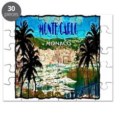 monte carlow monaco illustration Puzzle