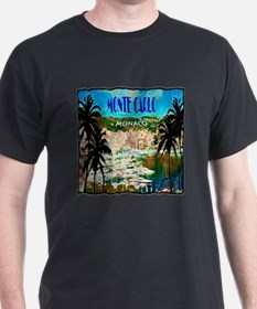 monte carlow monaco illustration T-Shirt