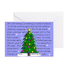 Nurse Christmas cards
