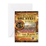 2012 Rails to Ales Brewfest Greeting Card