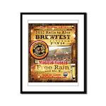 2012 Rails to Ales Brewfest Framed Panel Print