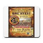 2012 Rails to Ales Brewfest Mousepad