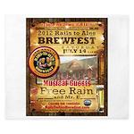 2012 Rails to Ales Brewfest King Duvet