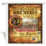 2012 Rails to Ales Brewfest Shower Curtain