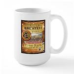 2012 Rails to Ales Brewfest Large Mug