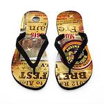 2012 Rails to Ales Brewfest Flip Flops