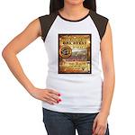 2012 Rails to Ales Brewfest Women's Cap Sleeve T-S