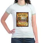 2012 Rails to Ales Brewfest Jr. Ringer T-Shirt