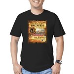 2012 Rails to Ales Brewfest Men's Fitted T-Shirt (