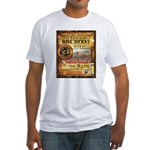 2012 Rails to Ales Brewfest Fitted T-Shirt
