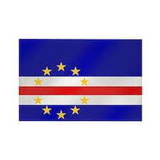 Cape Verde Flag Rectangle Magnet