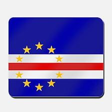 Cape Verde Flag Mousepad