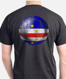 Cape Verde Soccer Ball T-Shirt