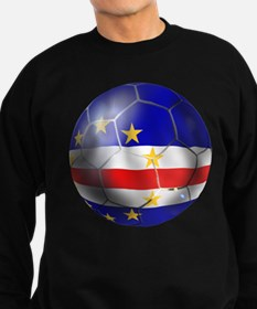Cape Verde Soccer Ball Sweatshirt (dark)
