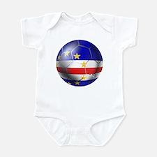 Cape Verde Soccer Ball Infant Bodysuit