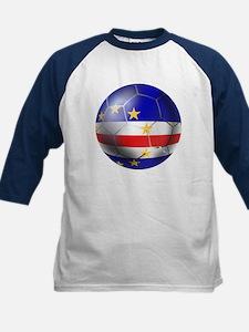 Cape Verde Soccer Ball Tee