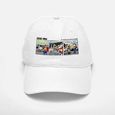 0381 - Summertime Baseball Baseball Cap