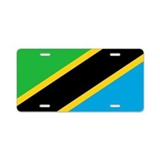 Flag of Tanzania Aluminum License Plate