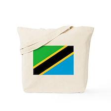 Flag of Tanzania Tote Bag