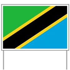Flag of Tanzania Yard Sign