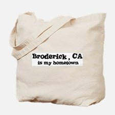 Broderick - hometown Tote Bag